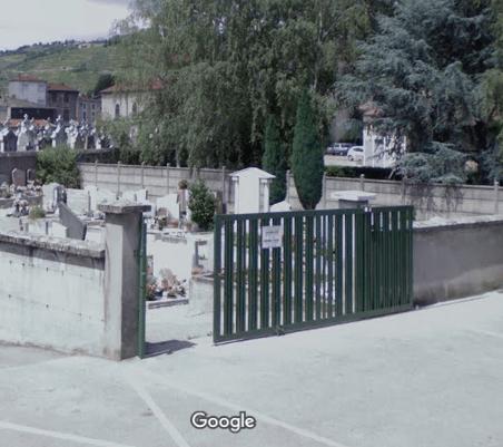 cimetière d'Ampuis