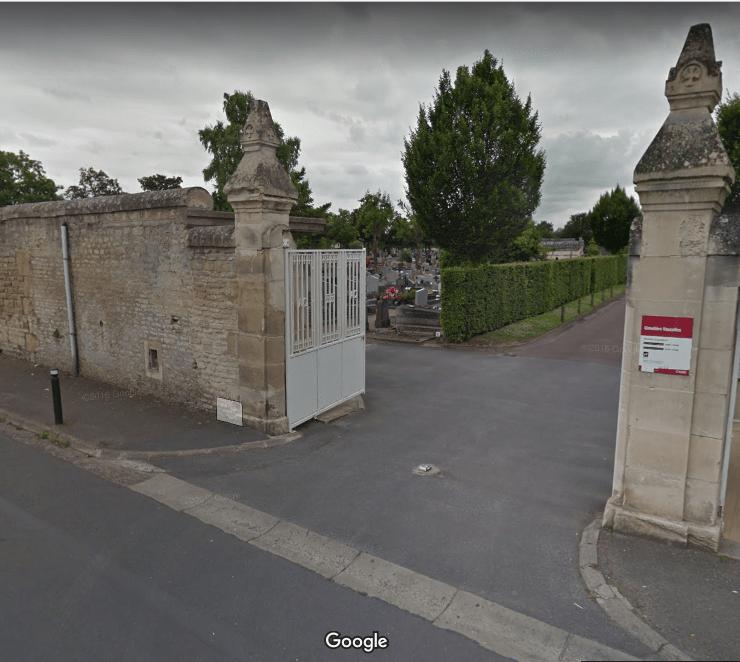 Le cimetière de Caen