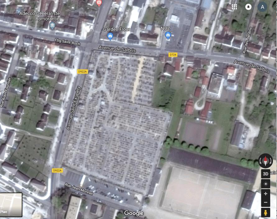 cimetière Romorantin-Lanthenay
