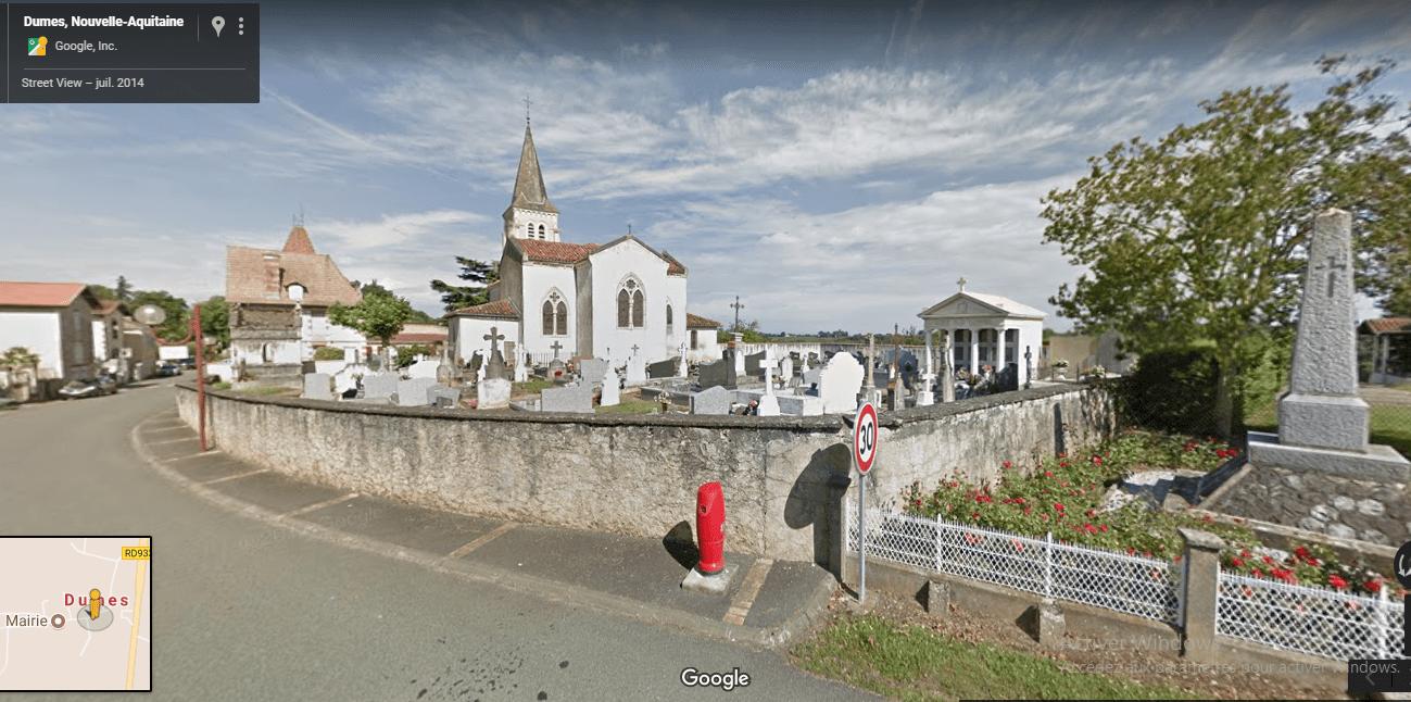 cimetière de dumes