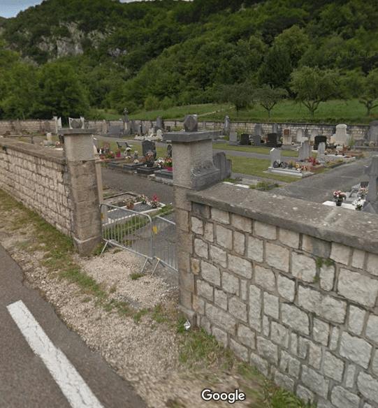 cimetièrede Rossillon