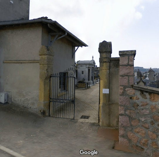 cimetièrede Cours-la-Ville