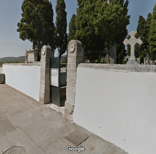cimetière de Vic-la-Gardiole