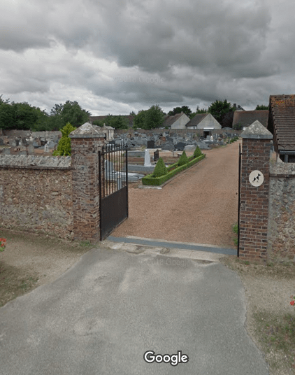 cimetière de Courville-sur-Eure