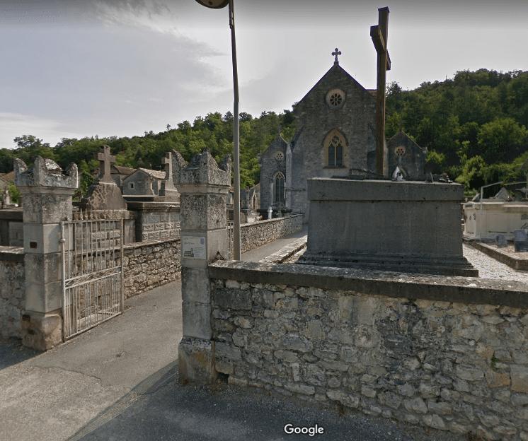 cimetière de Luzech