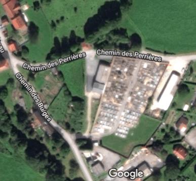 cimetière dePontarion