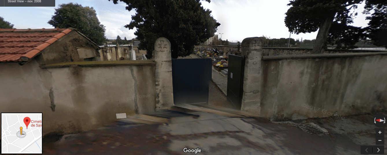 cimetière de  saint-césaire