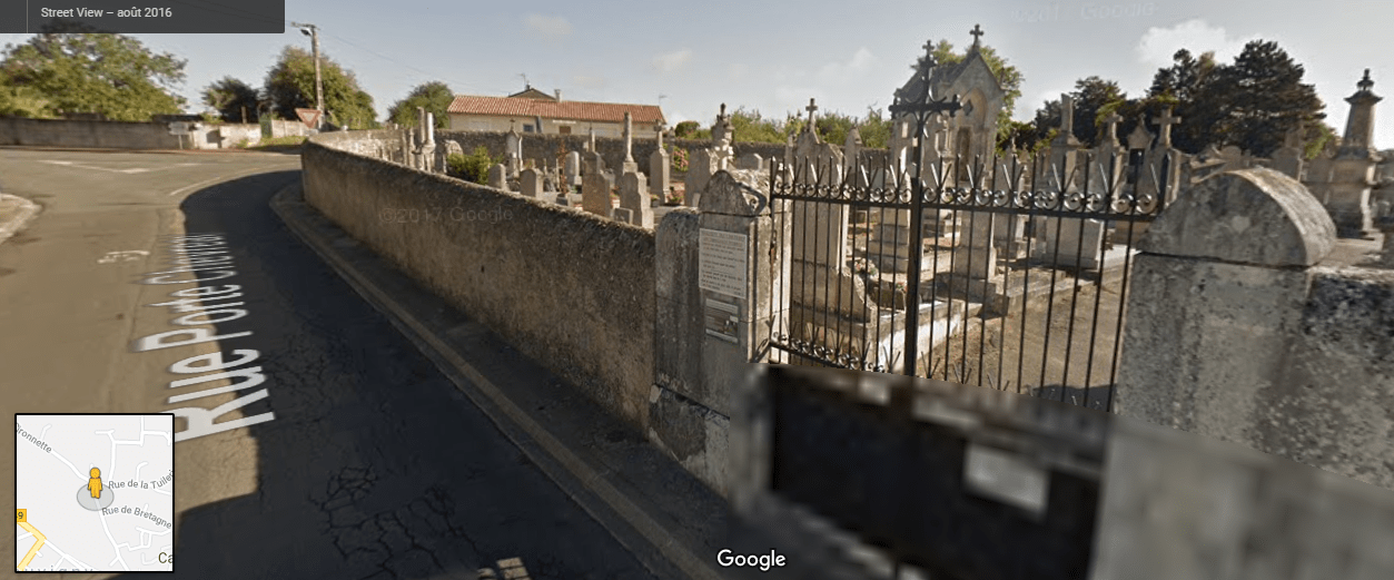 Cimetière Route de Poitiers