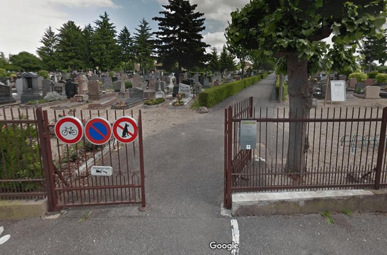 cimetière Saint Gall de Strasbourg