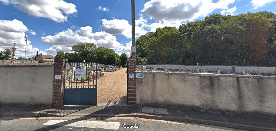 Cimetière communal de Digny