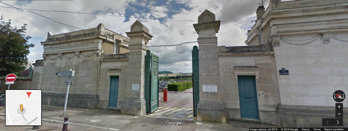 Cimetière d'Auxerre
