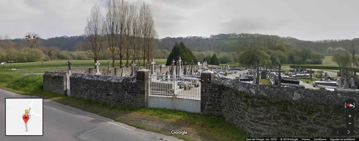 Cimetière del'ancienne commune de Léhon
