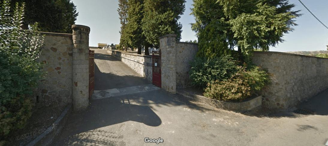 cimetière St Julien d'Empare