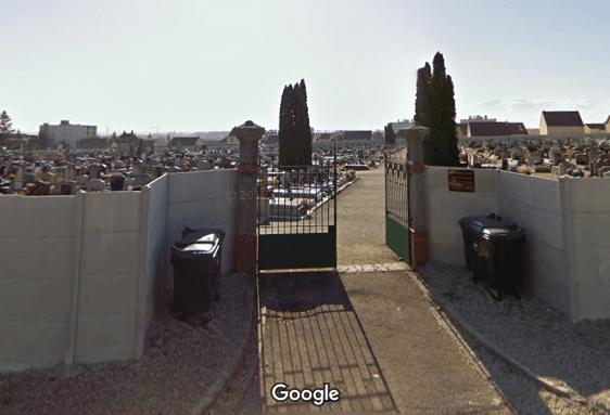 cimetière deRomilly-sur-Seine
