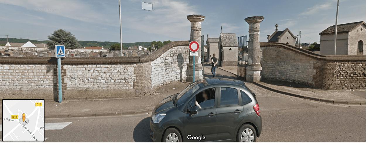 cimetière du centre d'Oissel
