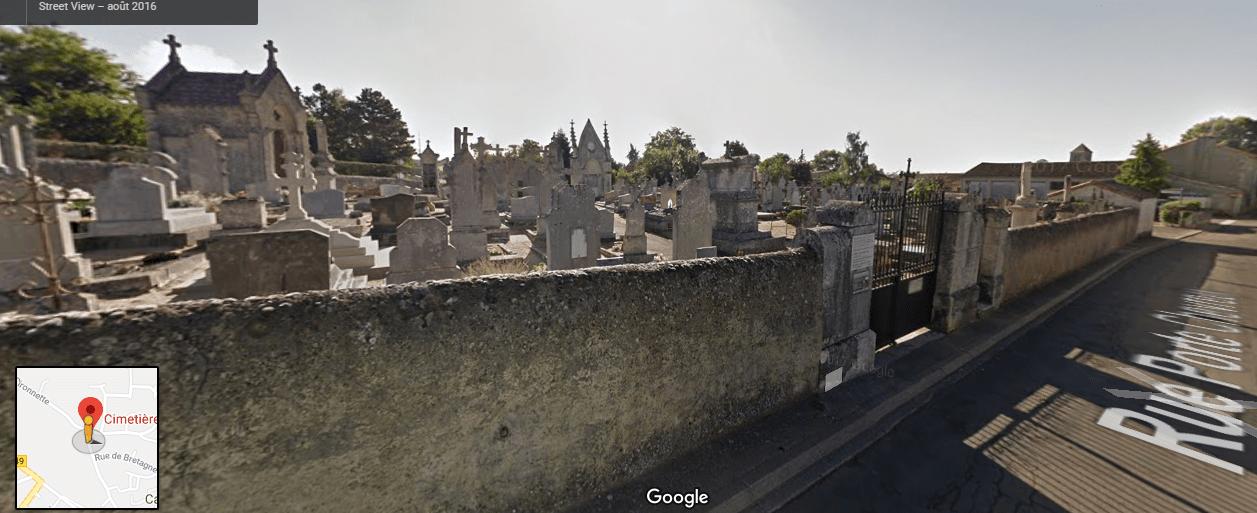 Cimetière du Châtaignier 33 Rue Porte Chevreau