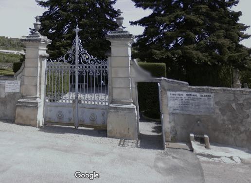 cimetière deForcalquier