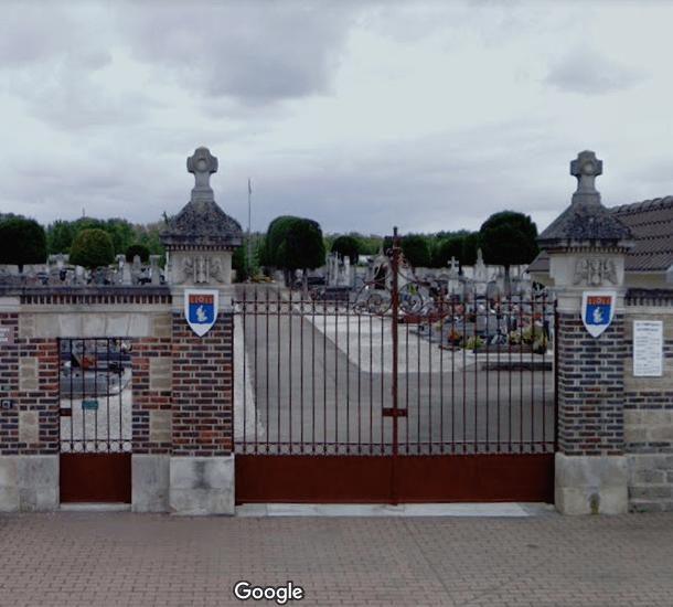 Cimetière communal deLa Chapelle-Saint-Luc