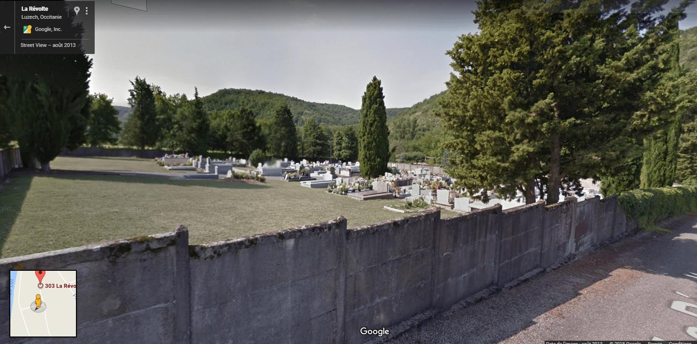 cimetière de la Révolte, Luzech
