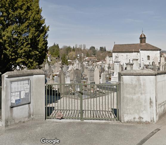 Ancien cimetière de Lagnieu