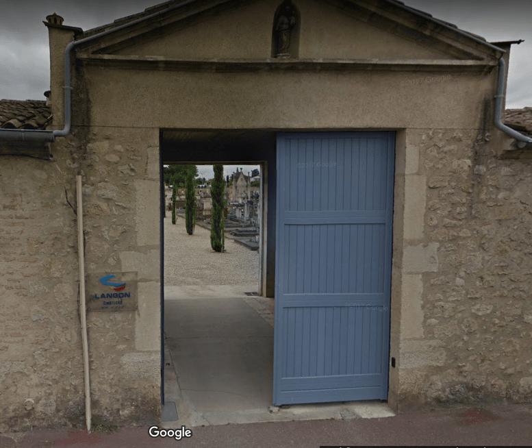 Cimetière de Langon