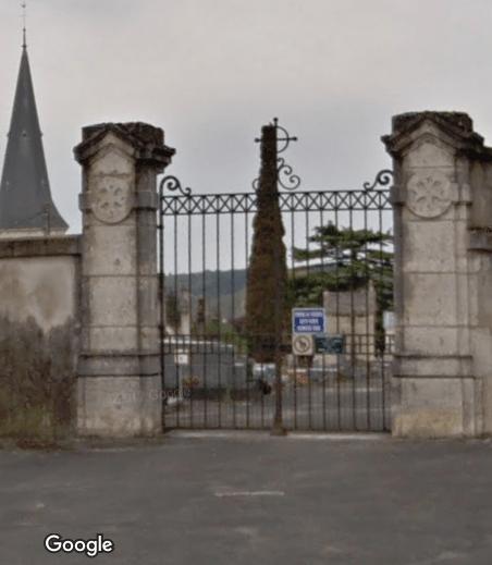 Cimetière de Nanteuil