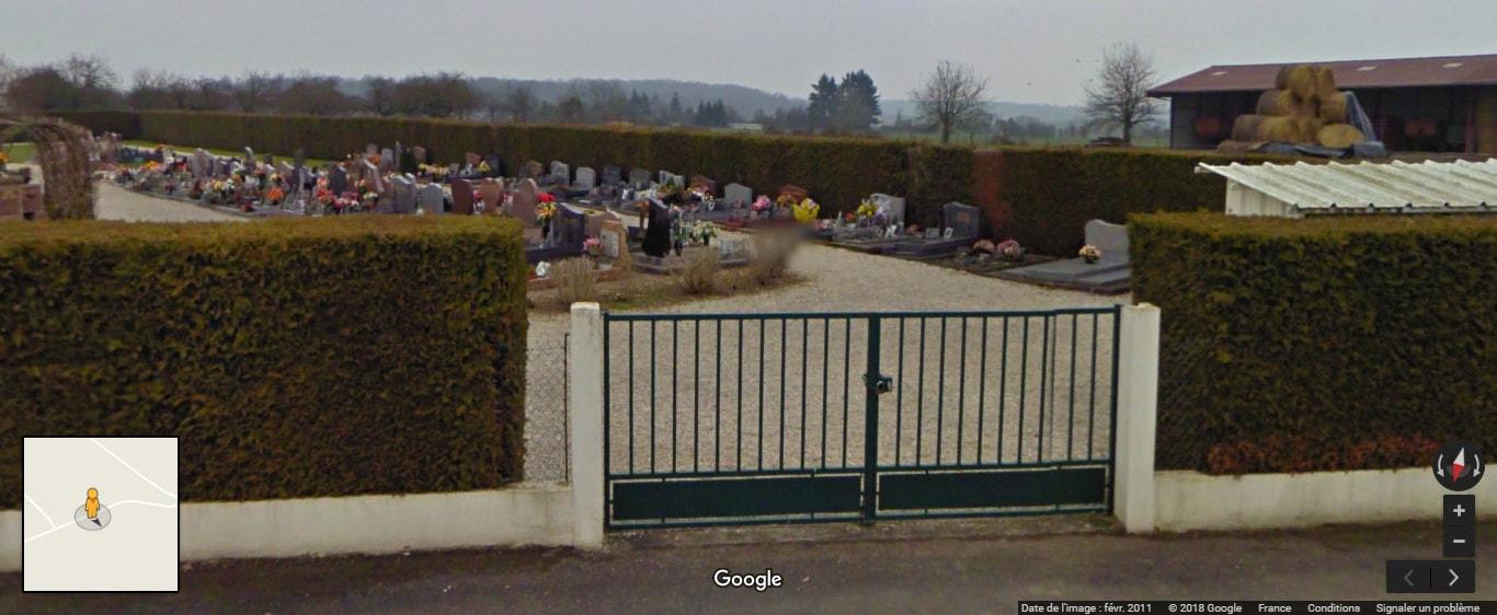 Nouveau cimetière deChancenay