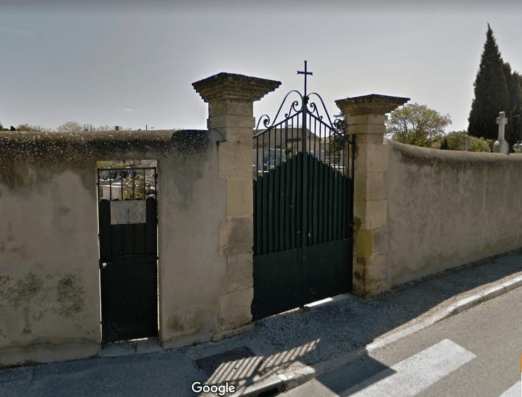 Cimetière à Fontainebleau