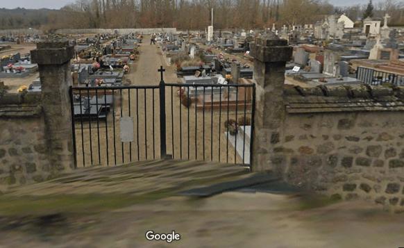 cimetière deMilly-la-Forêt