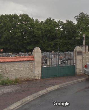 cimetière de Vouillé