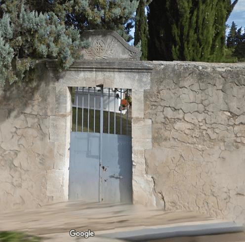 cimetière deMouriès