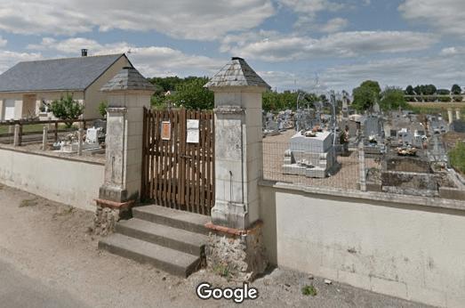 Photo du cimetière communal de Sermaise