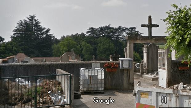 Photo du cimetière communal deChâtillon-la-Palud