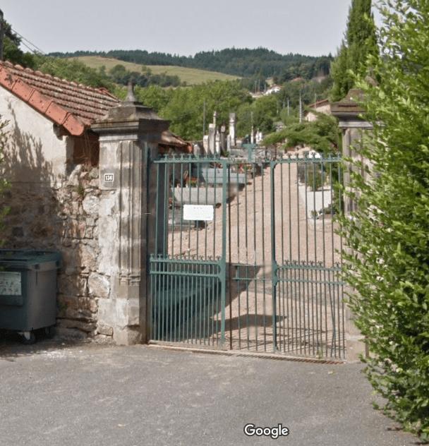 Cimetière de Saint-André-d'Apchon