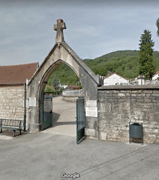 Le cimetière situé Chemin de Vosselle