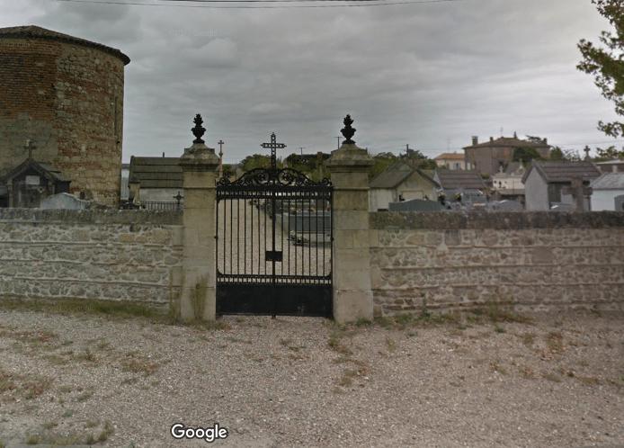 cimetière de Sainte Bazeille