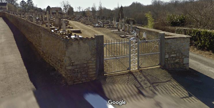 cimetière deCelle L'Evescault