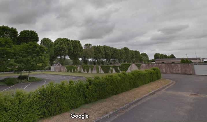 cimetière de Chatillon sur Indre
