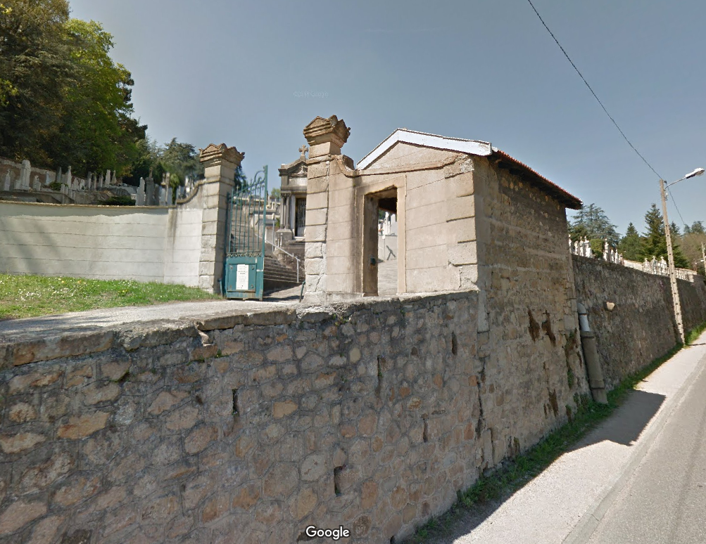 cimetière communal de La-Fouillouse