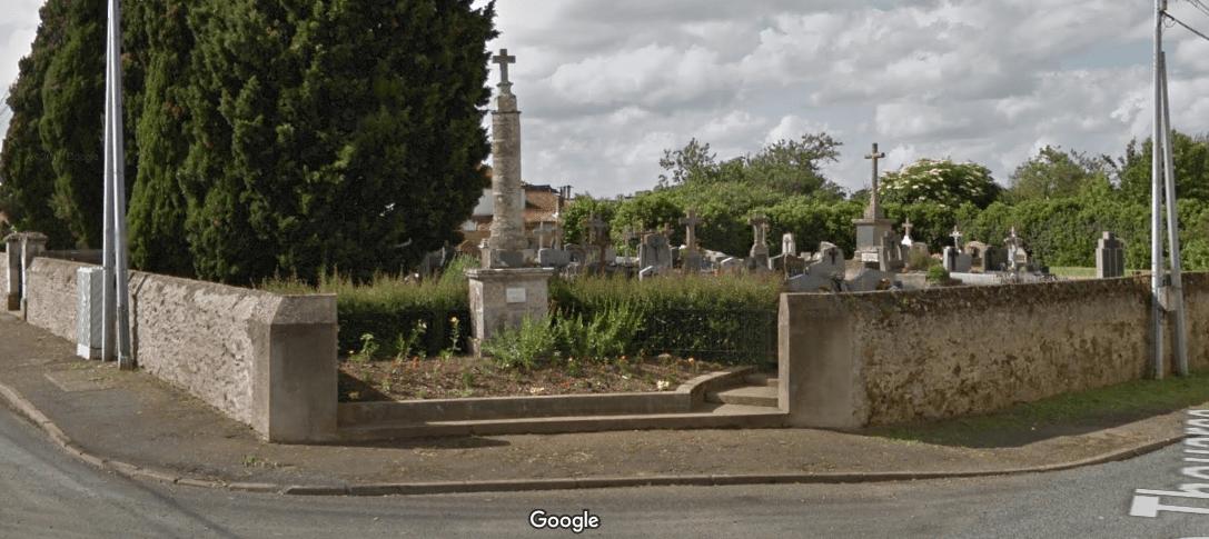 cimetière Rue de Thouarce de Chemillé-en-Anjou