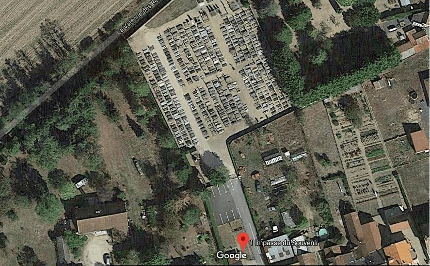 cimetière communal  de Garnat-sur-Engièvre