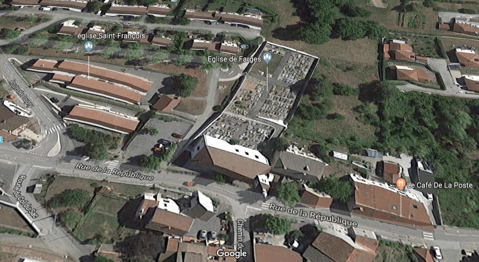 cimetière communal de Farges
