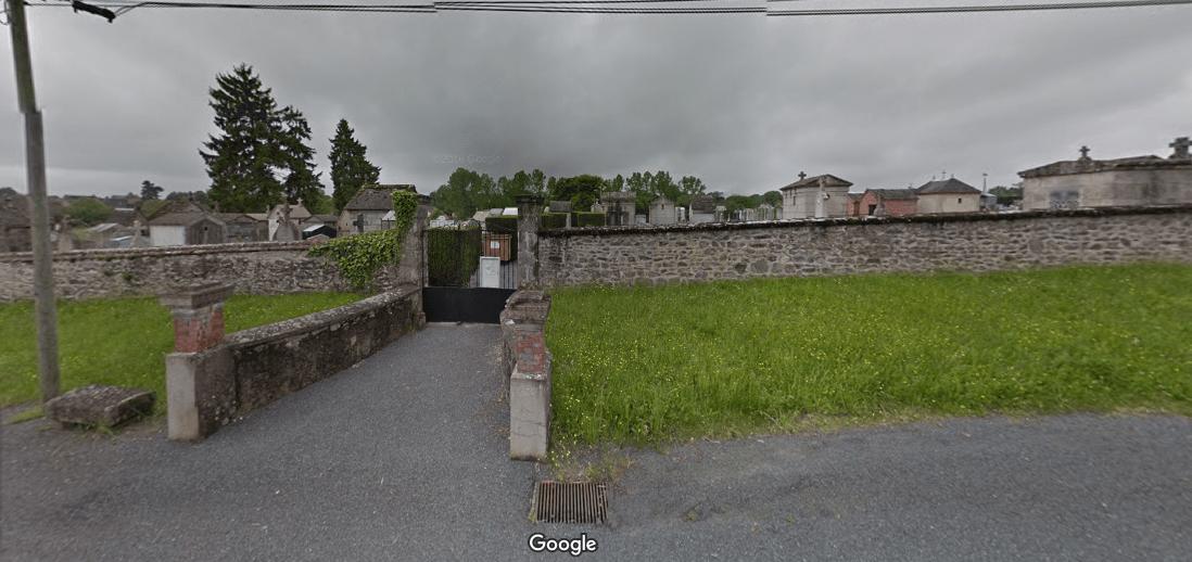 cimetière communal de Genouillac