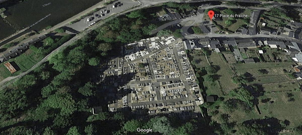 cimetière communal de Josselin 17 Place du Fraîche