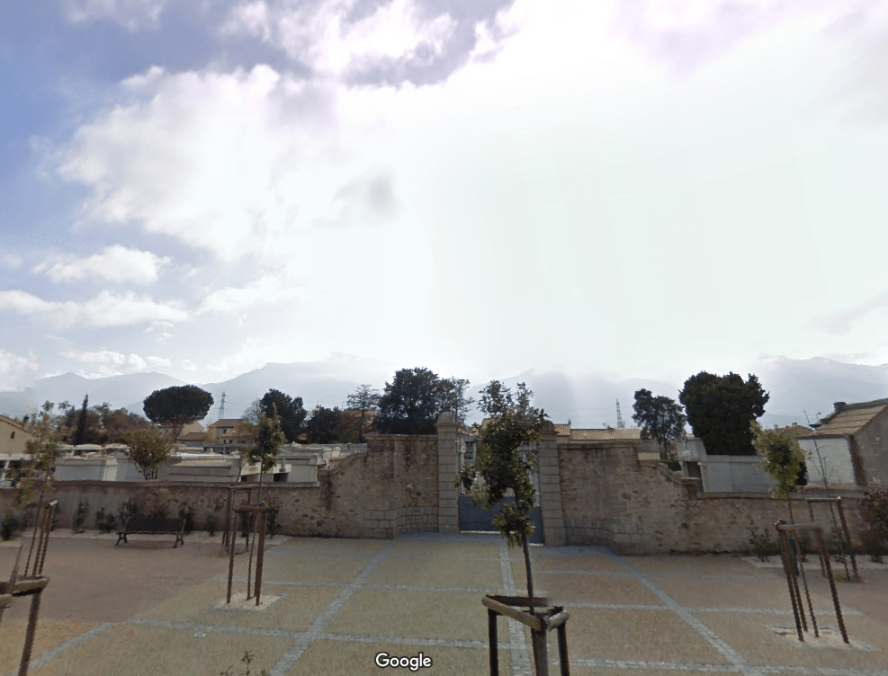 cimetière communal de Saint-Génis-des-Fontaines