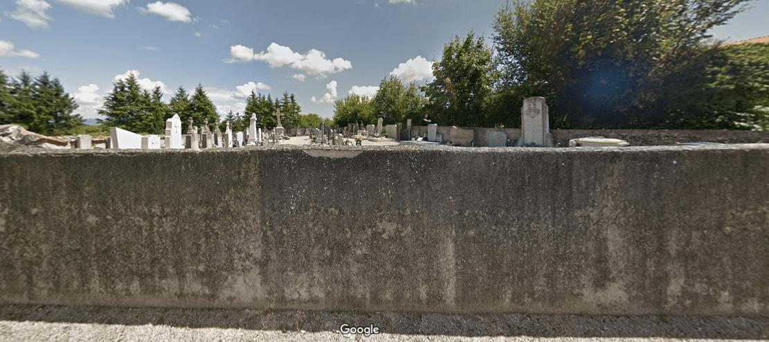 cimetière communal de Saint-Maurice-de-Gourdans
