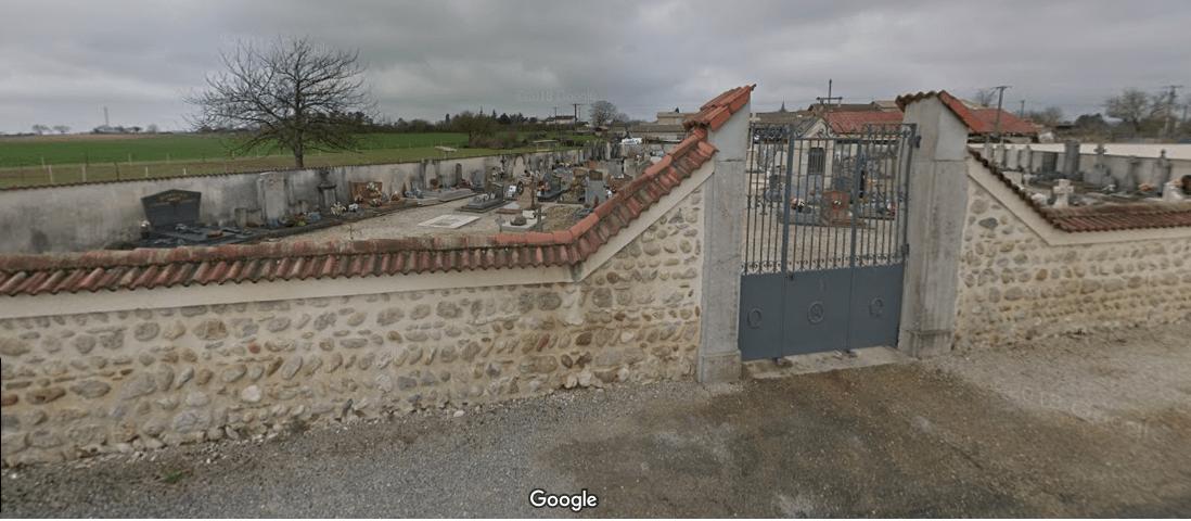 cimetière communal de Saint-Maurice-de-Rémens