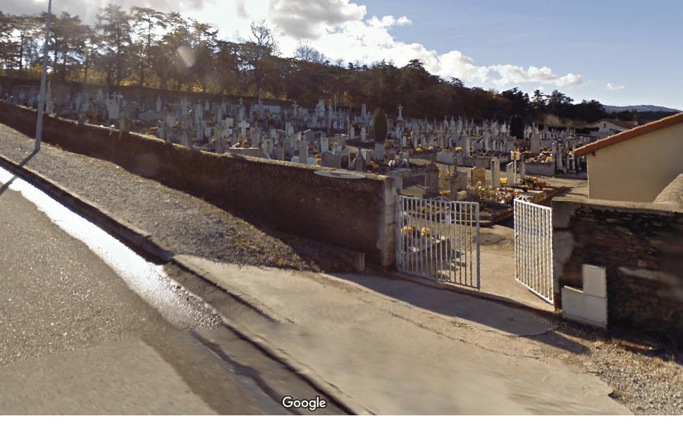 cimetière communal de Saint-Paul-en-Jarez