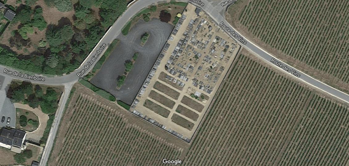 cimetière communal de Souzay-Champigny