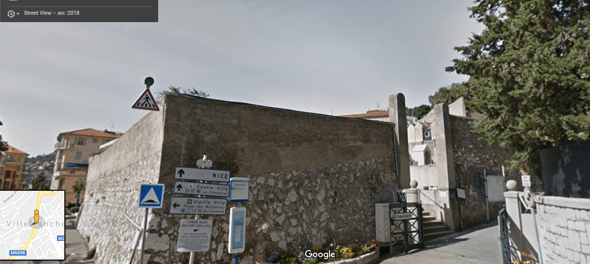 Cimetière de Villefranche-sur-Mer